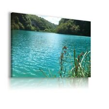 Republic of Croatia The Park Plitvice Lakes CANVAS WALL ART PICTURE C20 UNFRAMED