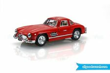 1954 Mercedes-Benz 300 SL Coupe Red 1:36 scale Diecast model hobby classic car
