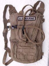 USMC FILBE Hydration System Carrier 3 L 100 oz Bladder  Coyote Marine Camelbak