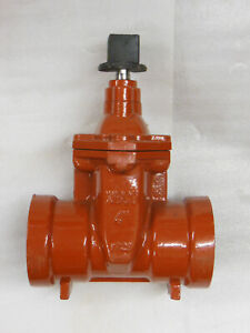 """NIBCO heavy duty 4"""" Gate Valve with Square 2"""" Operating Nut - P-619-RW - NEW"""
