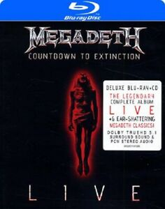 Megadeth, Countdown to Extinction (Deluxe Blu-ray and CD) New, Ex Display