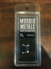 Brow Post, New! Morbid Metals 16g Acrylic