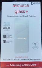 Новая стеклянная ZAGG InvisibleShield + протектор экрана для Samsung Galaxy S10e