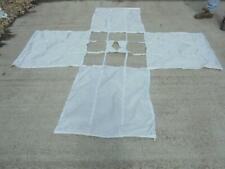 British Ex Military Irvin Square Break Parachute Canopy, Backdrop, Games