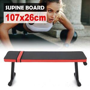 Weight Lifting Flat Folding Flat Bench Body Workout Exercise Press Training