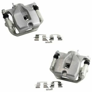 New Rear Disc Brake Caliper with Bracket & Hardware Pair for Highlander