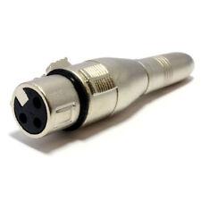 6.35mm Mono Jack Buchse Buchse XLR Buchse Adapter