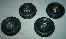 Blechspielzeug LKW Räder Reifen Auto Reifen Metall Felgen Spielzeug Joustra oa