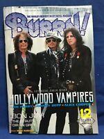 BURRN December 2018 Heavy Metal Magazine Japan HOLLYWOOD VAMPIRES Johnny Depp
