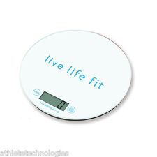Kitchen scales digital grams ounces with food portion guide FITLOSOPHY