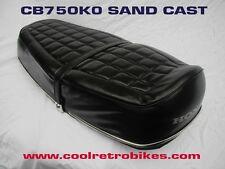HONDA CB750K0 CB 750 KO SAND CAST SEAT ORIGINAL ISSUE OEM COVER MINT NO REPOP !