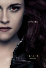 "TWILIGHT BREAKING DAWN PART 2 ""B"" 11.5x17 PROMO MOVIE POSTER"
