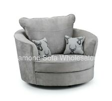 Grey Swivel Chairs for sale | eBay