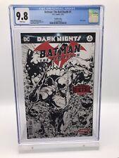 Batman: The Red Death #1 Fourth (4th) Print CGC 9.8