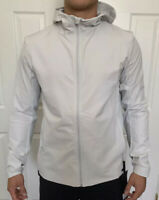 Lululemon Men Size M Warp Lite Jacket Packable Vapor VPOR Full Zip Hooded Vented
