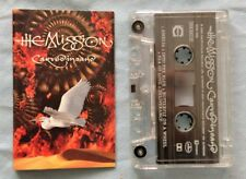 THE MISSION Carved In Sand UK 1990 CASSETTE Mercury 842251-4 NM/NM