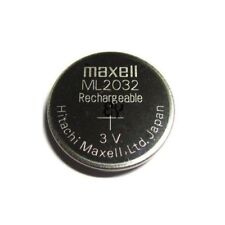 Maxell ML2032 2032 One Single Li-ion Rechargeable Coin Cell Battery 3V Japan
