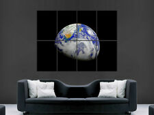 PLANET EARTH POSTER UNIVERSE SOLAR SYSTEM SPACE WALL IMAGE  ART PRINT LARGE