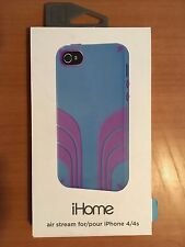 iHOME AIR STREAM CASE for iPHONE 4 & 4S (Blue & Purple)