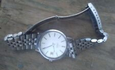 Omega Automatic stainless steel watch & band Swiss made date repair or parts