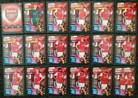 2019/20 Match Attax UEFA Soccer Cards - Arsenal Full Team Set (18 cards) SALE