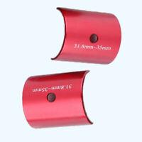 Bike Handlebar Shims 31.8mm To 35mm Stem Clamp Size Reducer Adapter Adaptor