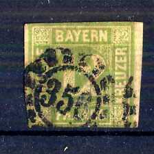 GERMAN STATES  -  BAYERN - 1862 - Grande cifra in cerchio. E5329