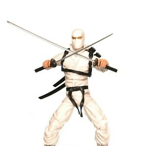 Articulated Icons WHITE NINJA (Storm Shadow)