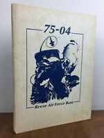 Rare 75-04 Reese Air Force Base Yearbook - 1974 Lubbock Texas AFB