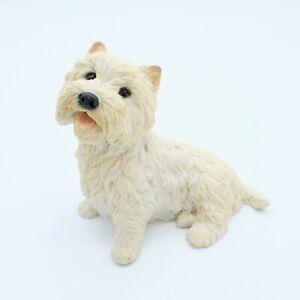 West Highland Terrier Dog Ornament Figurine.