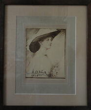 Queen Marie of Romania Signed Portrait 1926