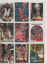 Michael Jordan Basketball Cards- lot of 9-Mint