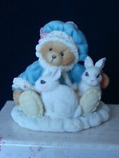 Cherished Teddies - Sonja - Bear With Rabbits Figurine - 622818 - 1994