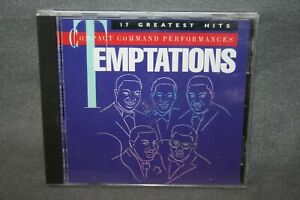 THE TEMPTATIONS 17 Greatest Hits Compact Command Performances CD Soul RARE