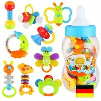 9stk/Set Baby Spielzeug Rasseln Greiflinge Rassel Babyrassel DE