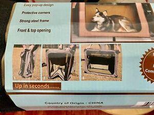 Ausie Naturals Folding Portable Dog Crate