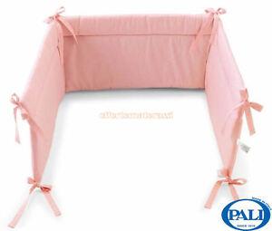 Paracolpi Pali Sweeties rosa per lettino