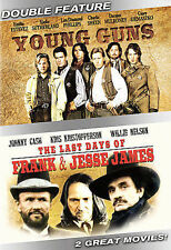 Young Guns/The Last Days of Frank and Jesse James (2 Discs DVD) NEW!