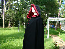 Renaissance Medieval Cape Travel Lord or  Lady cloak  Costume Cosplay Sz M- XL