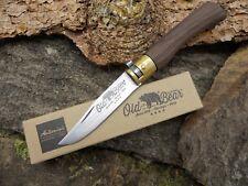 Antonini Old Bear S Walnuss Taschenmesser Klappmesser 420 Stahl rostfrei 01OB004
