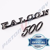 FALCON 500 Guard or Boot Badge Set NEW for Ford XA XB XC Fender Tailgate GS