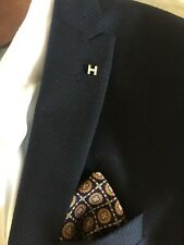 Hermes yellow gold Tie Pin lapel pin