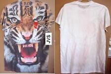 Tiger Face Graphic t-shirt Tee Size XXlarge Adult Unisex Gildan Dry Blend NEW
