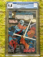 DEATHSTROKE THE TERMINATOR #4 NM/MINT CGC 9.8 WHITE PAGES