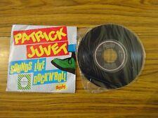 "Patrick Juvet - Sounds Like Rock 'n' Roll (Barclay 1980) 7"" Single PORTUGESE IMP"