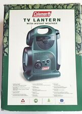 Coleman TV Lantern with Instant Weather New Open Box