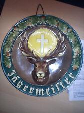 Keramik Wandteller JÄGERMEISTER