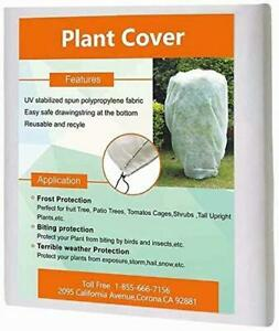 Agfabric Plant Covers Freeze Protection 72''x72''x12'' 0.95oz Freeze Cloths for