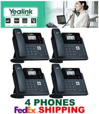 YEALINK SIP-T40G ULTRA ELEGANT GIGABIT IP VOIP PHONE SYSTEM-3-LINE-4 TELEPHONES