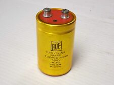 ROE GOLD CAPACITOR DIN 41250 ELKO-EYM/A 100V 4700MFD - USED